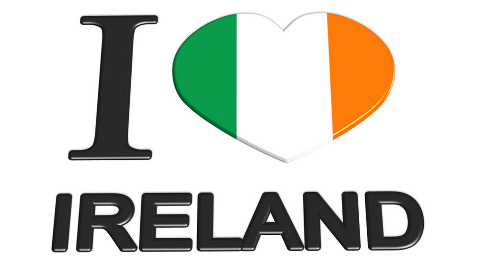 I Heart Ireland, The Heart is an Irish Flag