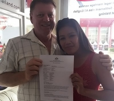 couple with australian fiancee visa