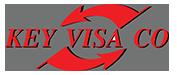 Key Visa Co's logo.