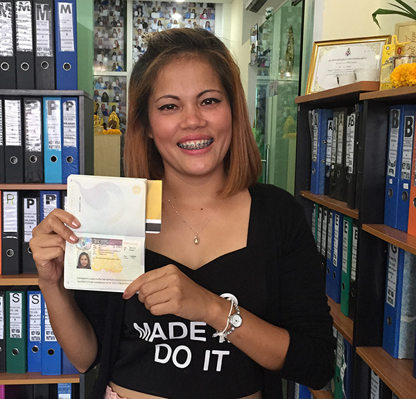 Thai girlfriend UK Visa